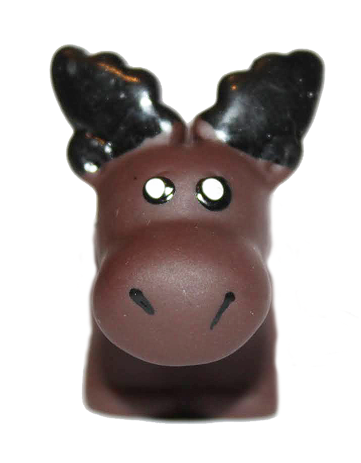 Pooping Mountain Moose Keychain
