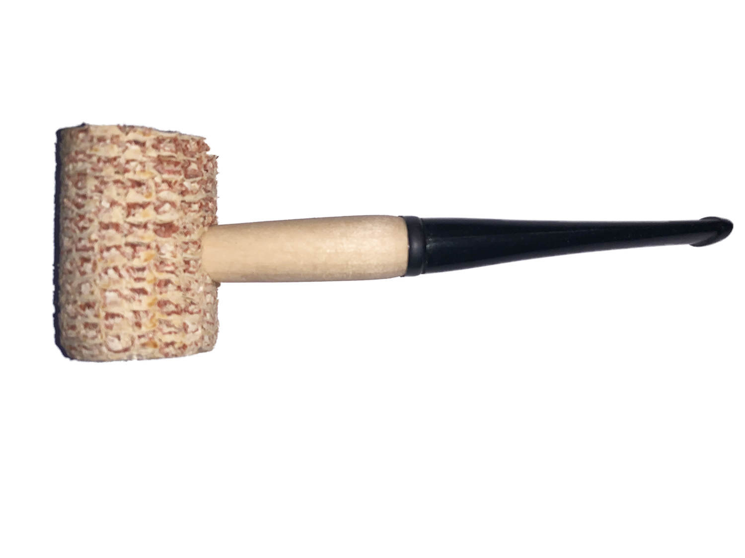 Authentic Wooden Corn Cob Pipe Costume Prop