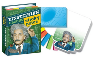 Albert Einstein Glunos Sticky Notes Notepads
