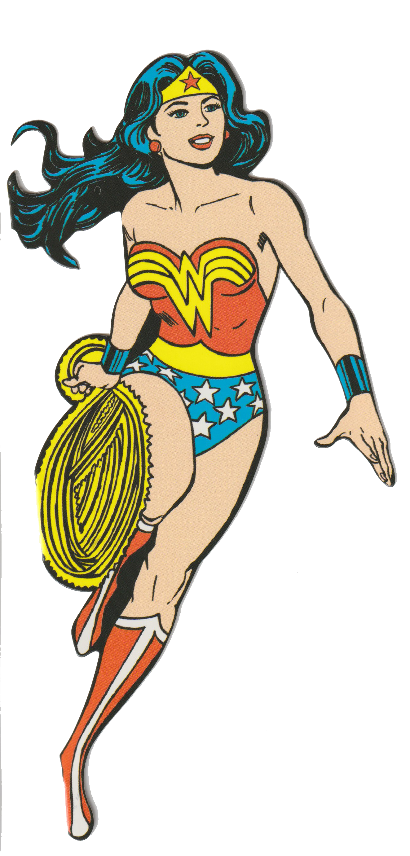 DC Comic Wonder Woman Greeting Card and Stickers