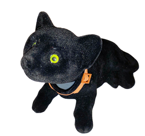 Black Cat Bobble Head Doll