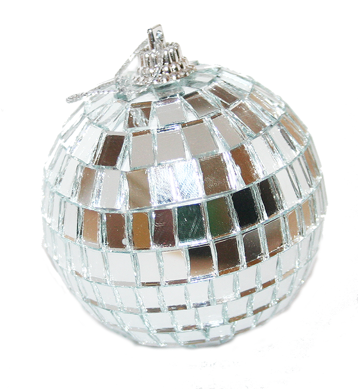 Hanging Disco Ball Mirror Ball Christmas Tree Ornament - Pop Culture Spot