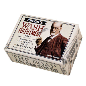 Sigmund Freud's Wash Fulfillment Soap - Pop Culture Spot