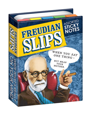 Freudian Slips Sigmund Freud Sticky Notes Notepads