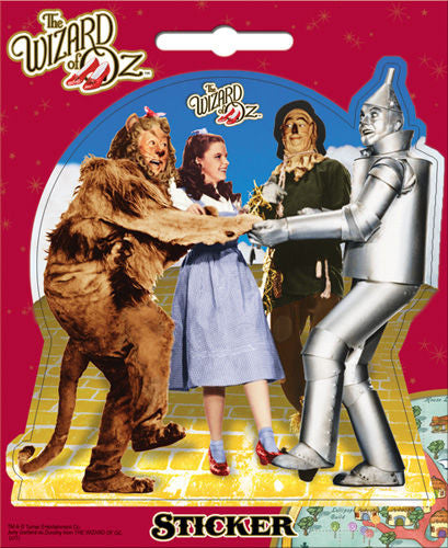 The Wizard of Oz Bumper Sticker Decal