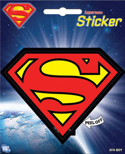 DC Comics Superman Logo Bumper Sticker Decal