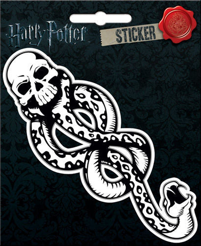 Harry Potter Dark Mark Sticker Crest Sticker Notebook Locker Scrapbook Decal - Pop Culture Spot