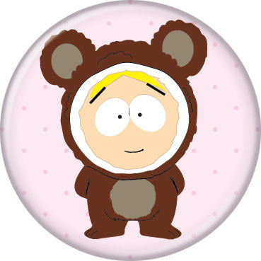 South Park Butters Bear Costume Pin Button