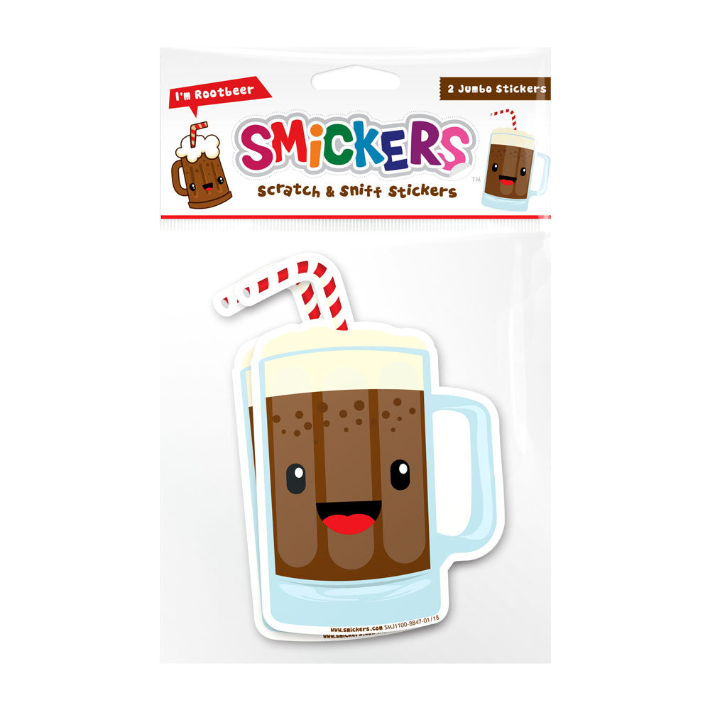 Smickers Root Beer Scented Sticker Set - Pop Culture Spot