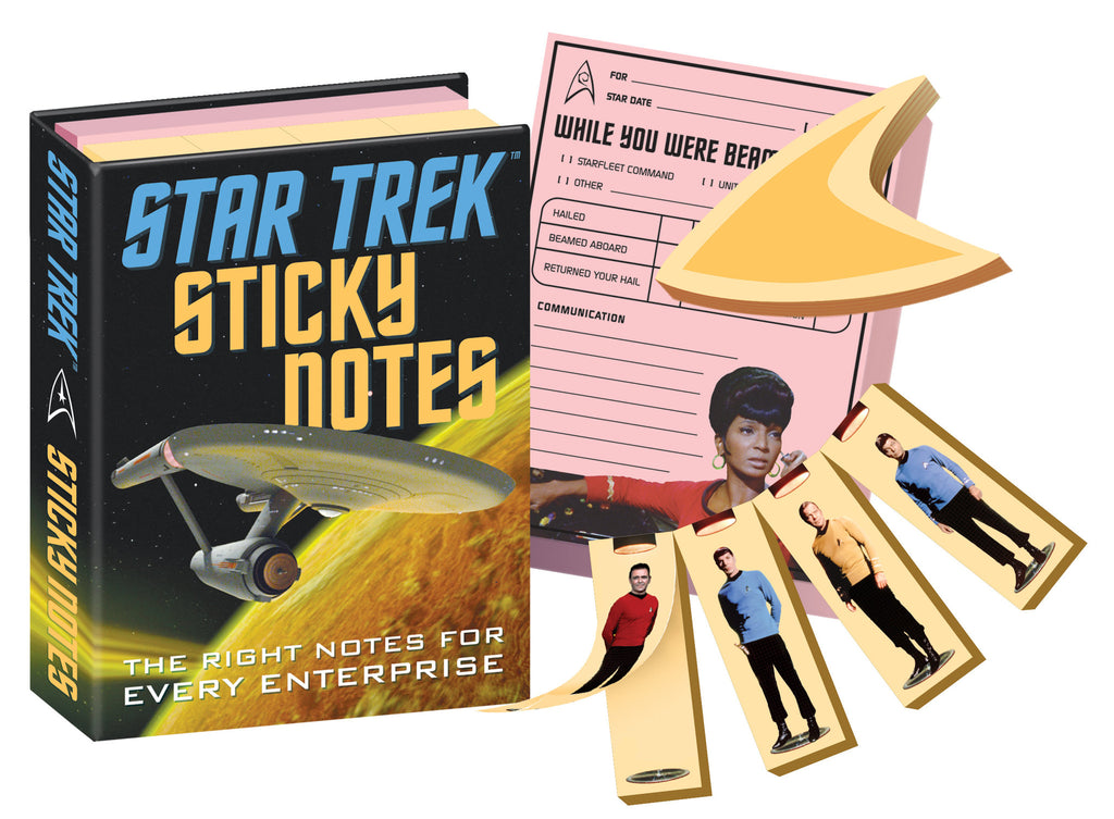 Star Trek 50th Anniversary Sticky Notes Notepads - Pop Culture Spot
