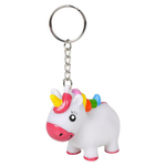 Pooping Unicorn Keychain