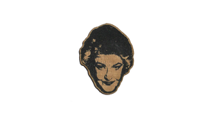 Bea Arthur Handcrafted Wood Pin - Pop Culture Spot