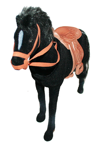 Bobble Head Equestrian Riding Horse