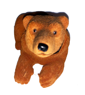 Brown Mountain Bear Bobble Head - Pop Culture Spot