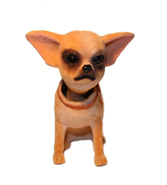chihuahua dog bobble head