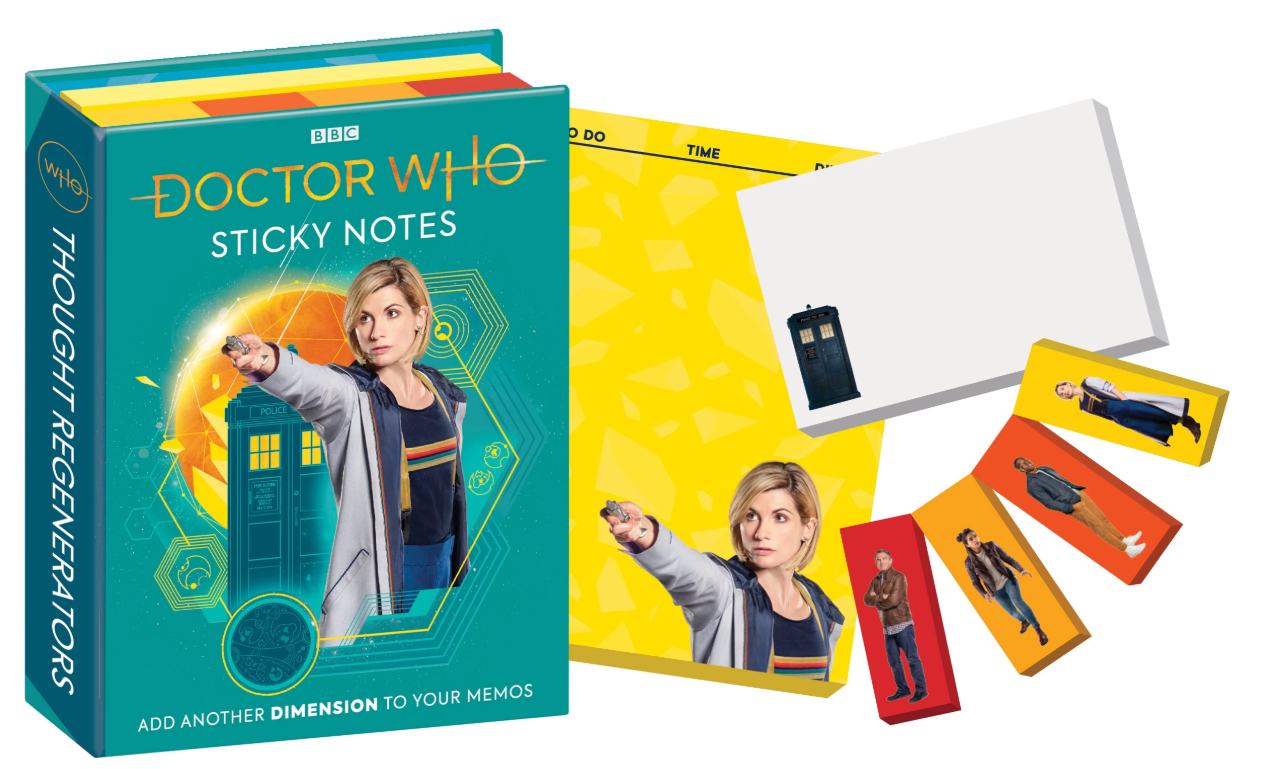 BBC Doctor Who TARDIS Sticky Notes 13th Doctor - Pop Culture Spot