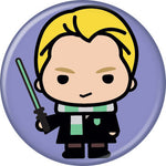 Harry Potter Draco Malfoy Pin Button - Pop Culture Spot