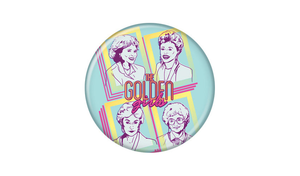 The Golden Girls Button Pin