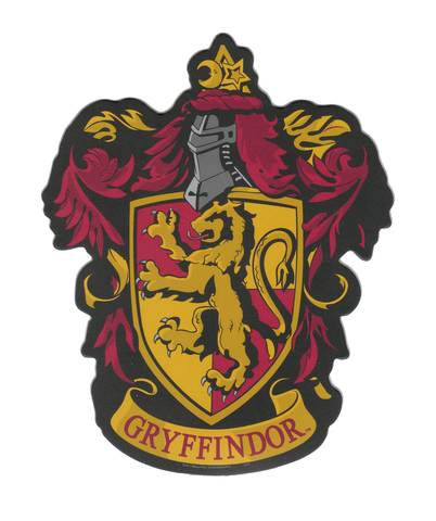 Harry Potter Gryffindor Crest Car & Fridge Magnet