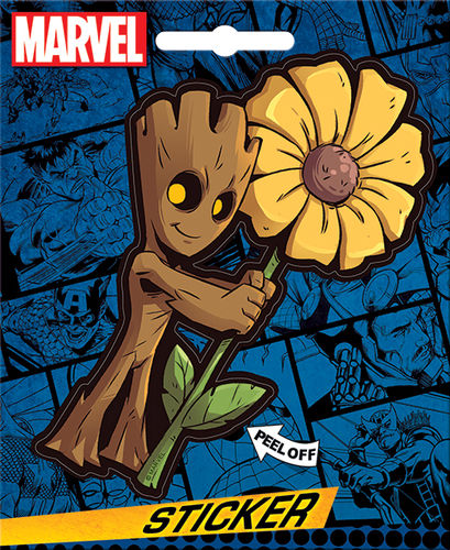 MARVEL Guardians of the Galaxy Groot Sticker Decal