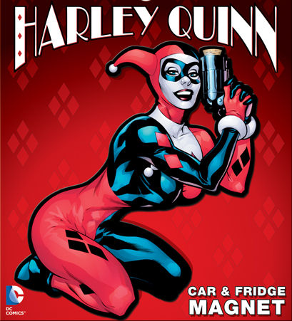 DC Comics Harley Quinn Car & Fridge Magnet - Pop Culture Spot