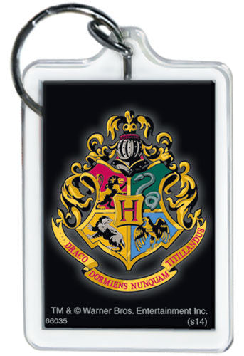 Harry Potter Hogwarts Crest Keychain - Pop Culture Spot