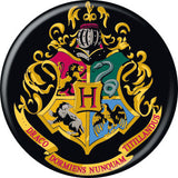 Harry Potter Hogwarts Crest Pin Button