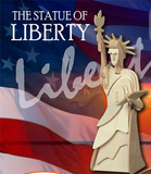 Lady Liberty Statue of Liberty 3-D Wooden Puzzle Wood Craft Construction Set
