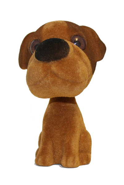 Bobble Head Brown Puppy Dog