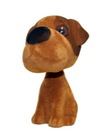 Bobble Head Brown Puppy Dog - Pop Culture Spot