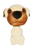 Mutt Puppy Dog Bobble Head
