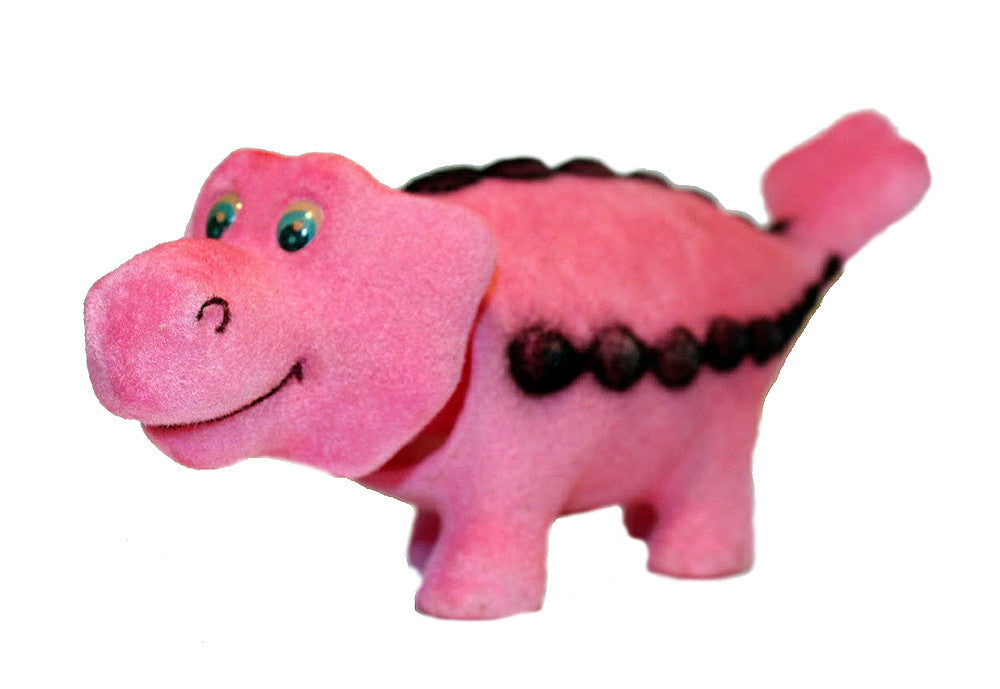 Bobble Head Pink Dinosaur - Pop Culture Spot