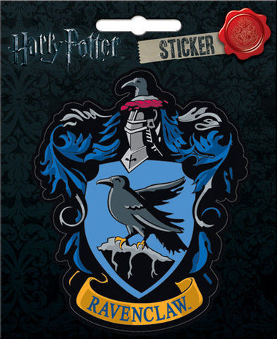 Harry Potter Ravenclaw Crest Bumper Sticker Decal - Pop Culture Spot