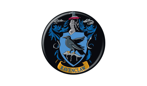 Harry Potter Ravenclaw Crest Pin Button