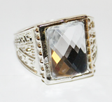 Roaring 20s Retro Costume Jeweled Ring