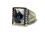 Roaring 20s Retro Costume Jeweled Ring - Pop Culture Spot