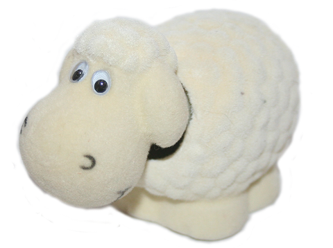 Sheep Bobble Head Doll