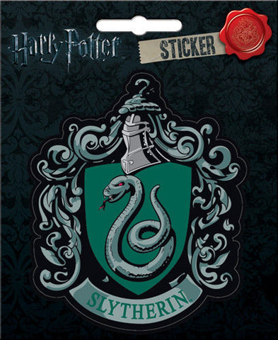 Harry Potter Slytherin Crest Sticker Notebook Locker Scrapbook Decal - Pop Culture Spot