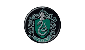 Harry Potter Slytherin Crest Pin Button - Pop Culture Spot