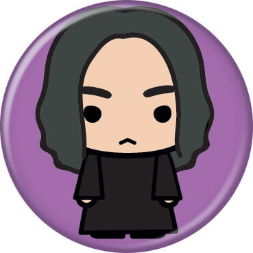 Harry Potter Snape Anime Button Pin