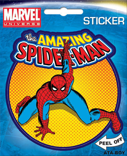 The Amazing Spider-Man Comic Sticker Scrapbook Computer Locker Decal - Pop Culture Spot