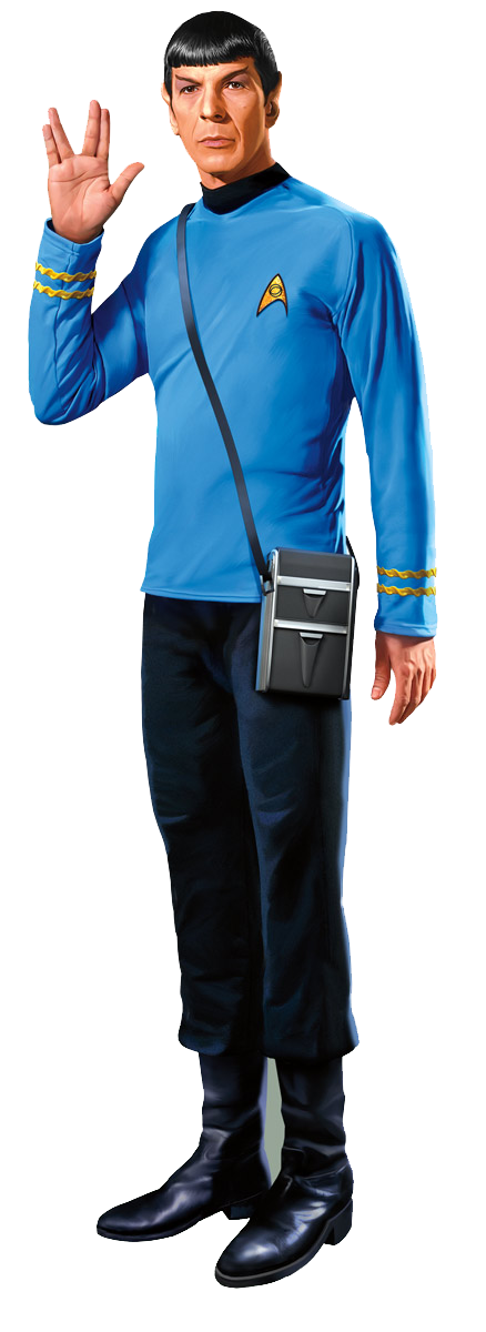 Star Trek Mr. Spock Greeting Card & Stickers - Pop Culture Spot