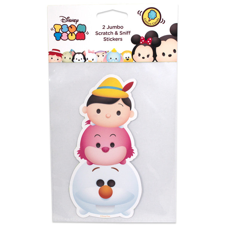 disney tsum tsum Olaf Pinocchio Chesire Cat scented stickers