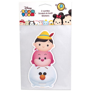 Disney Tsum Tsum Olaf Pinocchio Cheshire Cat Scratch & Sniff Stickers - Pop Culture Spot