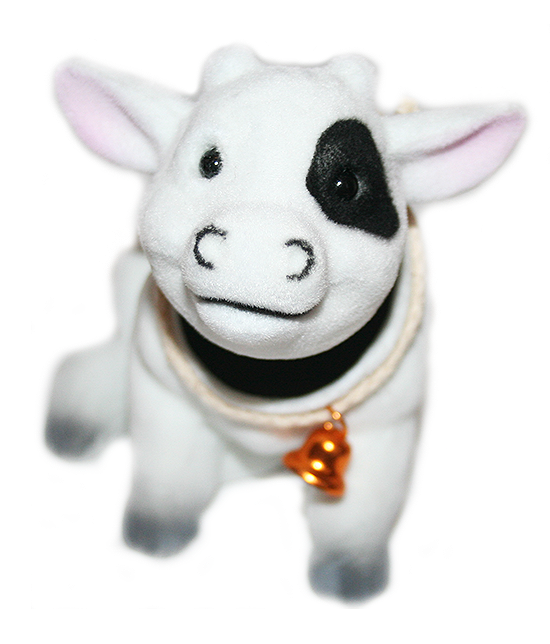 Bobble Head Dairy Milk Cow - Pop Culture Spot