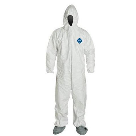 Tyvek® Coveralls (Elastic Wrist + Ankle, with Attached Hood and Boots)