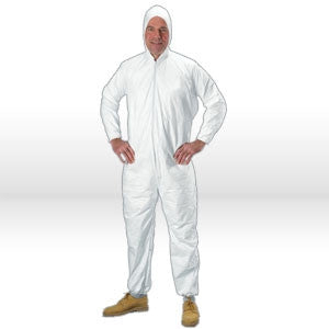 Advantage Plus Coveralls (Elastic Wrist + Ankle, with Attached Hood and Boots)