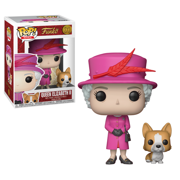 POP! Vinyl - Royals - Queen Elizabeth II #01