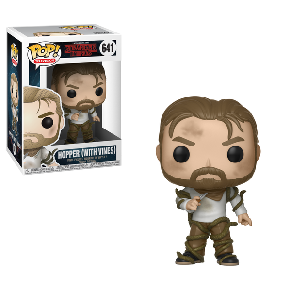 POP! Television - Stranger Things - Hopper (With Vines) #641