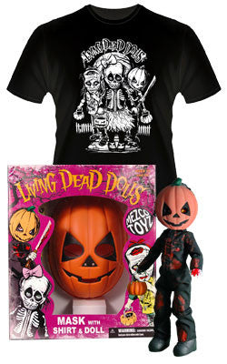 Living Dead Dolls - Retro Halloween - Pumpkin The Jack O' Lantern